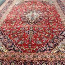 9'5 x 13'2 Beautiful Genuine S Antique Persian Kashan Hand Knotted Wool Area Rug