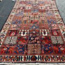 5 x 10 Mint Genuine Persian Bakhtiari Tribal Oriental Hand Knotted Wool Area Rug