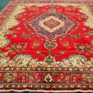 9'9 x 12'8 Genuine S Antique Persian Tabriz Oriental Hand Knotted Wool Area Rug