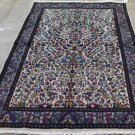 3'9 x 6'9 Stunning Rare Authentic Persian Kerman Hand Knotted Wool Area Rug