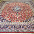 9'6 x 12'9 Genuine S Antique Persian Mashad Hand Knotted Oriental Wool Area Rug