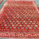 6'3 x 10 Genuine S Antique Persian Kurdish Boteh Oriental Hand Knotted Wool Rug