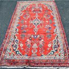 3'4x6'10 Genuine Semi Antique Persian Sarouk Village Hand Knotted Wool Area Rug