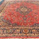 9'9x13 KPSI 225 Mint Genuine Persian Mashad Khorassan Hand Knotted Wool Area Rug