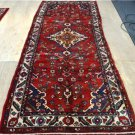 3'6 x 9'7 Plush Genuine Semi Antique Persian Sarouk Hand Knotted Rug Wool Runner