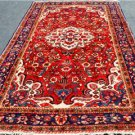 5'2 x 10'4 Genuine S Antique Persian Mahal Sarouk Oriental Hand Knotted Wool Rug