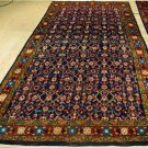 5x10'7 Elegant Blue Fine Genuine S Antique Persian Mahal Hand Knotted Wool Rug