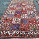 5 x 10 Fine Genuine Persian Bakhtiari Tribal Hand Knotted Oriental Wool Area Rug