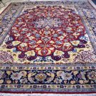 9'9 x 13'7 Amazing Beauty Authentic Persian Isfahan Hand Knotted Wool Area Rug