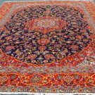 9'6x13' Fine Quality Genuine S Antique Persian Isfahan Hand Knotted Oriental Rug