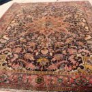 6'7 x 10 Charming Fine Genuine S Antique Persian Heriz Serapi Hand Knotted Rug