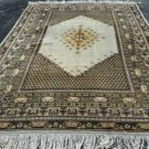 6'7 x 9'10 Beautiful Turkish Moroccan Oriental Hand Knotted Estate Wool Area Rug