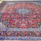 9'5 x 12'5 Stunning Genuine S Antique Persian Kashan Hand Knotted Wool Area Rug