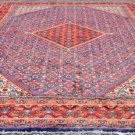 10 x 13 Fine Genuine S Antique Persian Mahal Sarouk Hand Knotted Wool Area Rug