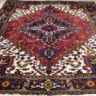 6'9 x 9'5 Wonderful Genuine S Antique Persian Heriz Serapi Hand Knotted Wool Rug