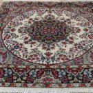 6'6 x 7 Beautiful Authentic Persian Kerman Oriental Hand Knotted Wool Area Rug