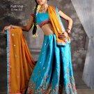 Partywear Crepe Exclusive Embroidery Lehenga Choli With Blouse - GW Katrina03C N