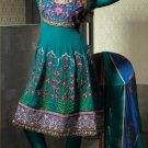 Georgette & Chiffon Partywear Embroidered Shalwar & Salwar Kameez - X 3447 N