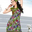 Indian Bollywood Cotton Partywear Kurti Kurta Tops - X 1008A