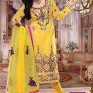 Faux Georgette Designer Embroidery Shalwar Salwar Kameez With Dupatta- CS 6003 N