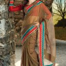 Bridal Cotton Traditional Embroidery Full Patli Saree With Blouse - OD 18009 N