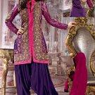 Silk Designer Embroidery Shalwar Salwar Kameez With Dupatta - CS 6014 N
