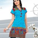 Indian Bollywood Cotton Partywear Kurti Kurta Tops - X 1012B