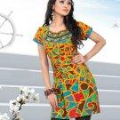 Indian Bollywood Cotton Partywear Kurti Kurta Tops - X 1011A