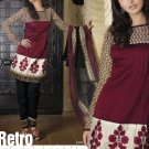 Cotton Banarsi Partywear Designer Shalwar & Salwar Kameez With Dupatta- X 2629 N
