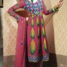 Georgette & Chiffon Partywear Embroidered Shalwar & Salwar Kameez - X 3451 N