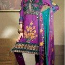 Jacquard & Chiffon Partywear Embroidered Shalwar & Salwar Kameez - X 3418 N