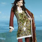 Soft Cotton Designer Printed Shalwar & Salwar Kameez With Dupatta - X 8107c N