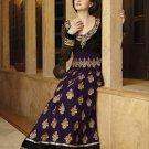 Viscose Partywear Embroidered Shalwar & Salwar Kameez With Dupatta - X 7187B N