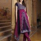 Viscose Partywear Embroidered Shalwar & Salwar Kameez With Dupatta - X 7188A N