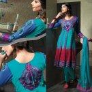 Georgette & Chiffon Partywear Embroidered Shalwar & Salwar Kameez - X 3408 N