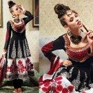 Jacquard & Chiffon Partywear Embroidered Shalwar & Salwar Kameez - X 3401 N