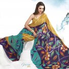 Sari Saree Faux Georgette Casual Printed With Unstitch Blouse - VF 4901 N