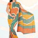 Sari Saree Premium Georgette Printed Designer Sarees With Blouse - X 2641d N