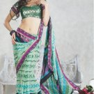 Faux Georgette Bridal Wedding Designer Embroidered Saree with Blouse - X 1511 N