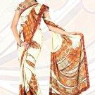 Sari Saree Jacquard Crepe Printed Designer Sarees With Blouse - X 2142c N