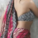 Faux Georgette Bridal Wedding Designer Embroidered Saree with Blouse - X 1525 N