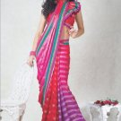 Faux Georgette Bridal Wedding Designer Embroidered Saree with Blouse - X 1521 N