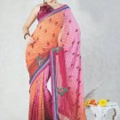 Faux Georgette Bridal Wedding Designer Embroidered Saree with Blouse - X 1503 N