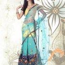 Partywear Faux Georgette Embroidery Lehenga Sari With Blouse - GW Rambha A-1 N