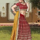 Partywear Faux Georgette Embroidery Lehenga Choli With Blouse - GW Rajrani N
