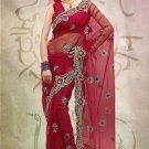 Net Wedding Designer Saris Sarees With Untitch Blouse - ANK - 2015 N
