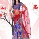 Partywear Net Exclusive Embroidery Lehenga Sari With Blouse - GW Taruni N