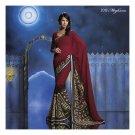 Georgette Designer Partywear Printed Sarees Sari With Blouse - LPT 2013