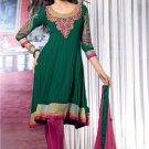 Dress Faux Georgette Wedding Shalwar & Salwar Kameez  With Dupatta - X 634 N