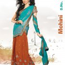Partywear Faux Georgette Embroidery Lehenga Sari With Blouse - GW Mohini N